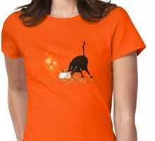 Hungry Cats Womens Fitted T-Shirt