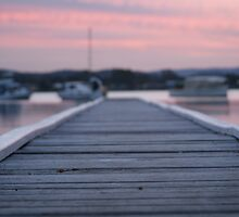 Dusk Jetty by Rochelle Buckley