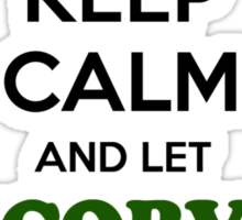 Keep Calm and Let MCCORVEY Handle it Sticker