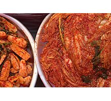 Kimchi - Changwon, South Korea Photographic Print
