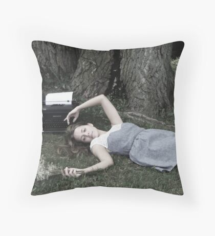 far away and half with you  Throw Pillow