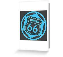 Execute Order no.66 - Star Wars Greeting Card