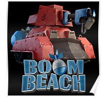 Scorcher Platform BOOM BEACH Poster