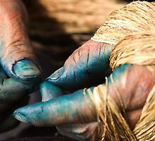 Stained Hands - Sapa, Vietnam by Alex Zuccarelli