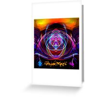 Abstract 52215 Square Greeting Card