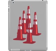 TRAFIC CONES PYLON iPad Case/Skin