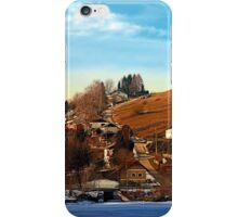 Road upon the river | landscape photography iPhone Case/Skin