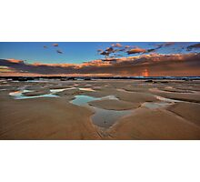 Bar Beach Panorama Photographic Print
