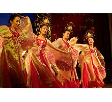Tang Dynasty Dance - Xi'an, China Photographic Print