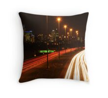 Eastern Freeway Throw Pillow
