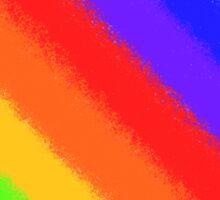 Soft Rainbow Stripes Sticker