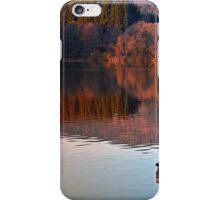 Romantic evening at the lake | waterscape photography iPhone Case/Skin
