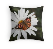 Pudge and Daisy Throw Pillow