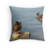 What's Up Ducky? Throw Pillow