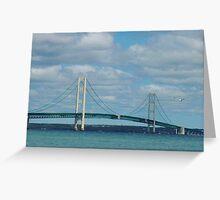 Mackinac Bridge Greeting Card