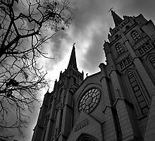 Christian Church - Daegu, South Korea by Alex Zuccarelli