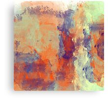 The People in the Abstract Canvas Print