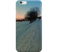 Hiking through winter wonderland | landscape photography iPhone Case/Skin
