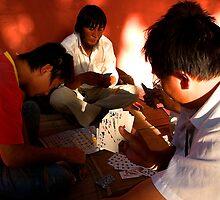 Card Sharks - Beijing, China by Alex Zuccarelli