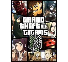 Grand Theft on Titans Photographic Print