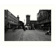 Ferrara Centrum Art Print