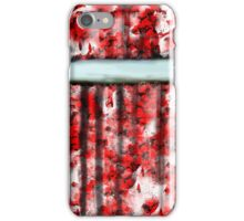 The Red Curtain iPhone Case/Skin