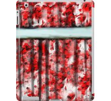 The Red Curtain iPad Case/Skin