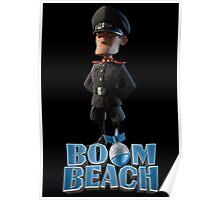 Lt. Hammerman BOOM BEACH Poster