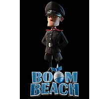 Lt. Hammerman BOOM BEACH Photographic Print