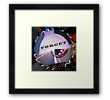 9-11 We Will Never Forget Framed Print