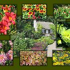 English Garden Collage by Stephen Thomas