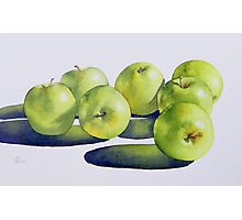 Granny Smiths Photographic Print