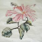 Hibiscus, Chinese Style by Alexandra Felgate