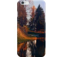 Romantic evening at the lake II | waterscape photography iPhone Case/Skin