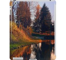 Romantic evening at the lake II | waterscape photography iPad Case/Skin