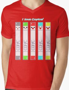 I love Copics! Mens V-Neck T-Shirt