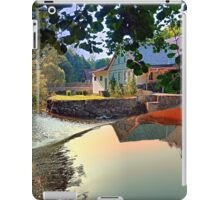 Nature, a river and colorful reflections | waterscape photography iPad Case/Skin