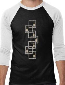 Candles Men's Baseball ¾ T-Shirt