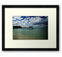 Shelly beach,Mornington Pennisula Framed Print