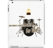 drum set, step brothers, best movie iPad Case/Skin