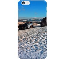 Hiking through winter wonderland II | landscape photography iPhone Case/Skin