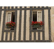 A Pair of Windows, La Rochelle, France Photographic Print