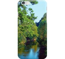 A summer evening along the river III | waterscape photography iPhone Case/Skin