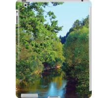A summer evening along the river III | waterscape photography iPad Case/Skin