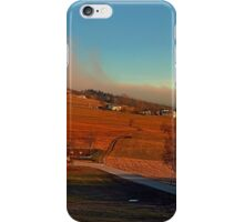 Clouds over the mountains II | landscape photography iPhone Case/Skin