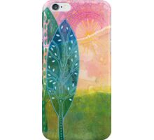 The Sun Shines over the Hill iPhone Case/Skin