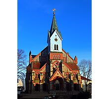 The village church of Aigen | architectural photography Photographic Print