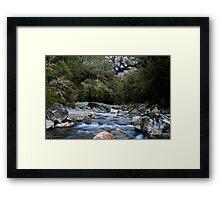 Cledau River,Fiordland National Park Framed Print