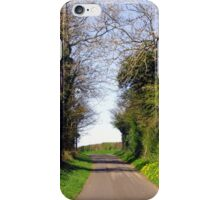 An English Country Road iPhone Case/Skin