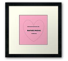 rafael love Framed Print